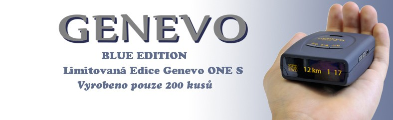 Genevo One S - Blue Edition