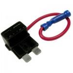 Detail: Přídavný pojistkový obvod pro jednoduché napojení napájení