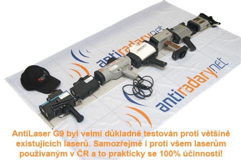 Naše výbava - Laserové pistole