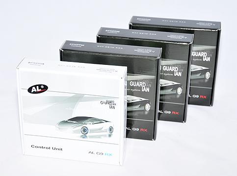 Laserová rušička AntiLaser G9 RX - Balení