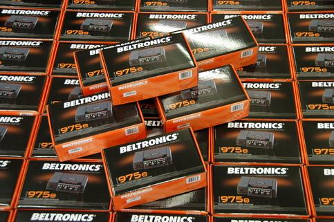 Antiradar Beltronics 975 EURO - Balení detektoru