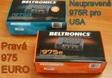 Antiradar Beltronics 975 EURO - Verze EURO vs. USA
